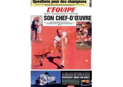Son chef d'oeuvre