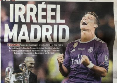Irréel Madrid